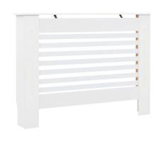 Fehér MDF radiátorburkolat 112 x 19 x 81,5 cm - utánvéttel vagy ingyenes szállítással