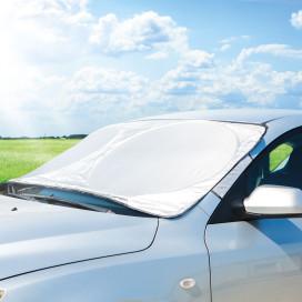 Autós téli-nyári szélvédőtakaró / jegesedésgátló - 150 x 70 cm