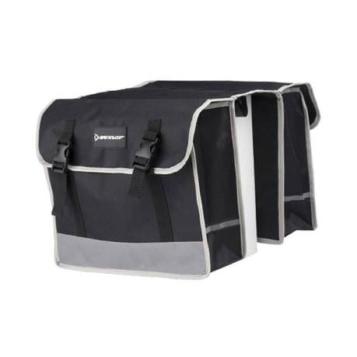 Dunlop kétoldalas kerékpár táska csomagtartóra