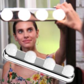 Studio Lights tükörre rögzíthető ledes kozmetikai lámpa / smink világítás